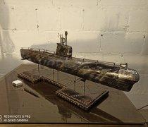 """Кованый подарок #109 """"Подводная лодка"""" (Шкатулка/мини-бар)"""""""