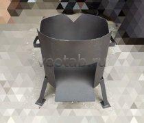 Купить печь #0801-2мм. под казан 8л. без дверцы
