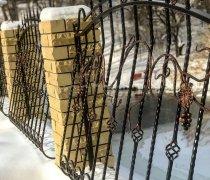 Забор кованый #0018