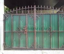 Ворота распашные #026