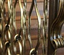 Перила, ограждения кованые #015