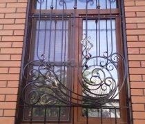 Кованные решетки на окна #0101