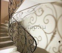 Перила арт.0028 ограждение лестничное/балконное кованое