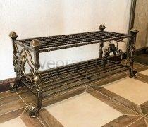 Кованая мебель  #0003 (полка под обувь)