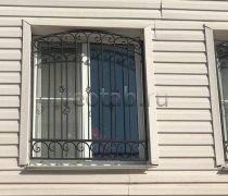 Кованные решетки на окна #0102