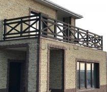 Перила арт.0074 ограждение лестничное/балконное кованое
