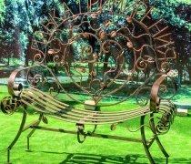 Садовая скамейка #00114