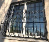 Кованные решетки на окна #0909
