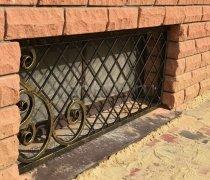 Кованные решетки на окна #907