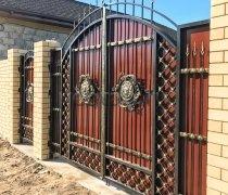 Ворота кованые #059