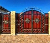Ворота кованые #058