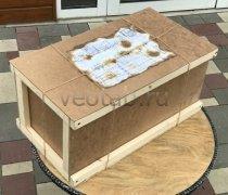 """Кованый подарок #099 """"Ящик почтовый под полуторку"""""""