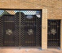 Ворота кованые #087
