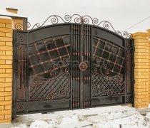 Ворота кованые #011