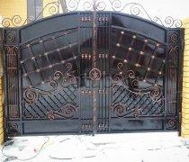 Ворота откатные  (Кованые)