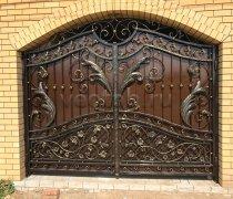 Ворота кованые #057