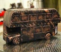 """Кованый подарок #024 (Мини-бар """"Лондонский автобус"""")"""