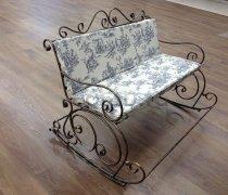 Кованые кресла-качалки #32