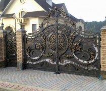 Ворота кованые #28