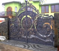 Ворота кованые #31
