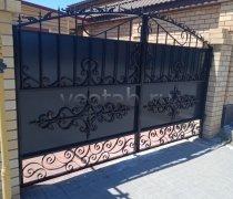 Ворота кованые #089