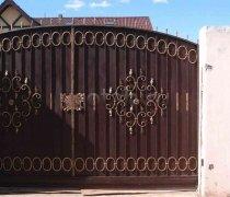 Ворота распашные  #37