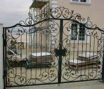 Ворота кованые #027