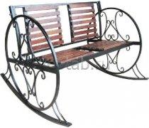 Кованые кресла-качалки #1
