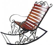 Кованые кресла-качалки #41