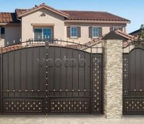 Ворота распашные #022