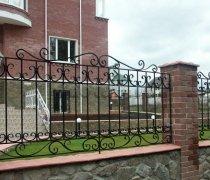 Забор кованый #0038