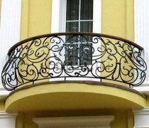 Кованые балконы #42