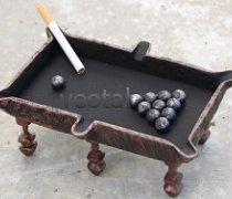 Кованые подарки-пепельница #14