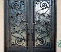 Кованые двери #42