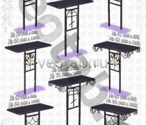 Стол металлический серии #057 - №57 и №58