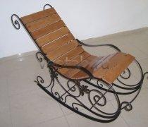 Кованые кресла-качалки #15