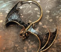 Кованый подарок #016 (дракон средний)