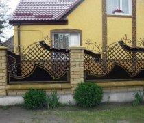 Забор кованый #0021