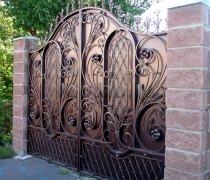Ворота кованые #018