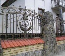 Забор кованый #0022