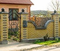 Забор кованый #0023