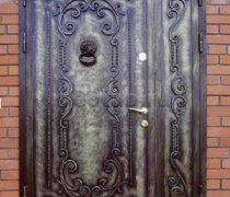 Кованые двери #25