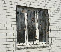 Кованные решетки на окна #56