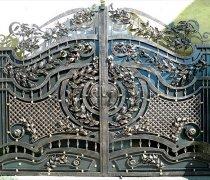 Ворота кованые #20