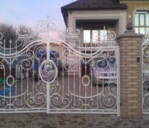 Ворота кованые #061