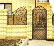 Ворота кованые #1