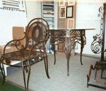 Кованая мебель для дачи #18