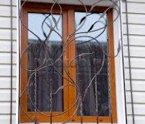 Кованные решетки на окна #84