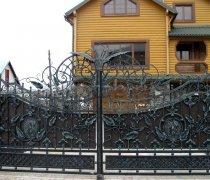 Ворота кованые #023