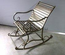 Кованые кресла-качалки #22